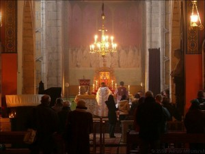 Wnętrze katedry ormiańskiej weLwowie