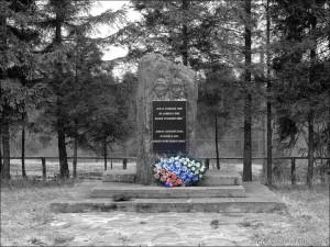 Pomnik wojenny na Przełęczy Użockiej