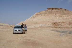 Auto wMaroku (fot.Krystyna Milczarek)