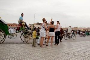 Marrakesz - ludzie (fot.Krystyna Milczarek)