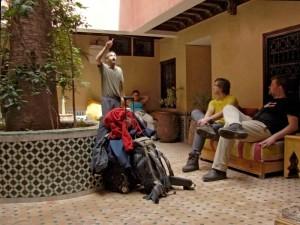Hotel Cecil - Marrakesz (fot.Krystyna Milczarek)