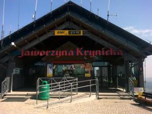 Stacja kolejki - Jaworzyna Krynicka