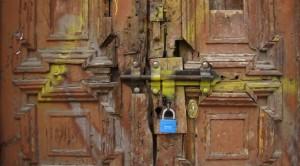 Drzwi wKrakowie (fot.Krystyna Milczarek)