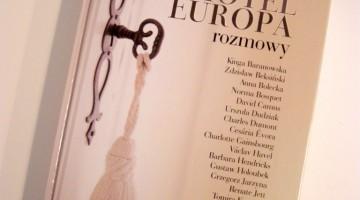 Remigiusz Grzela, Hotel Europa - rozmowy, okładka