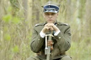 mjr Henryk Sucharski (Michał Żebrowski) (fot. Baranowski Michał/AKPA)