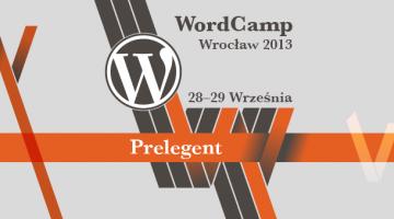 WordCamp Wrocław 2013