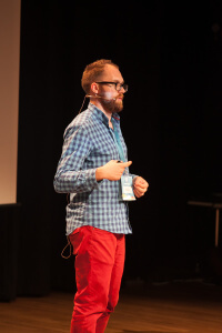 WordCamp Polska 2015 - Marcin Kosedowski fot.Wojtek Równanek
