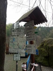Znaki przy Gościńcu Perła Zachodu