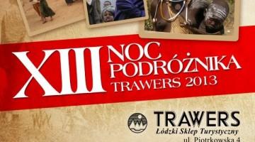 XIII Noc Podróżnika w Łodzi