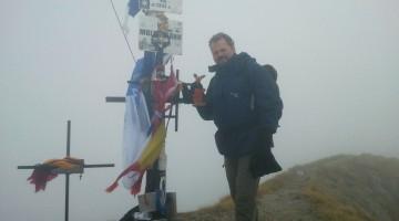 Najwyższy szczyt Rumunii - Moldoveanu 2543 m n.p.m