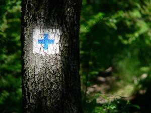 Kékes - szlaki znakowane