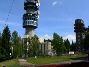 Kékes - wieża TV