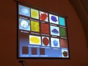 Charakterystyczne pigmenty