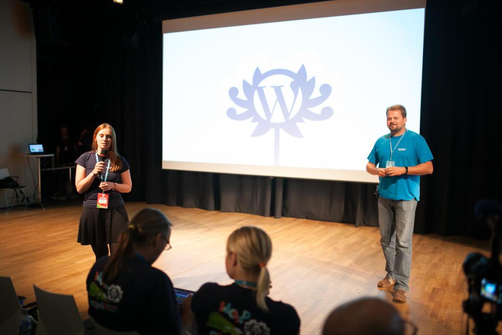 Katarzyna Gajewska iJakub Milczarek - WordCamp Polska 2015