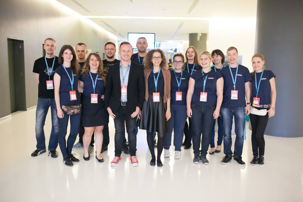 WordCamp Polska 2015 - Ekipa organizacyjna