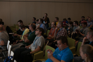 WordCamp Polska 2015 - dyskusja poprezentacji fot.Wojtek Równanek